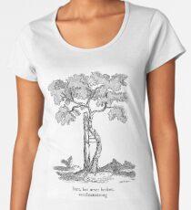 Bent, but never broken. Scoliosis awareness Women's Premium T-Shirt