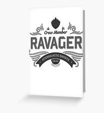 Ravager Greeting Card