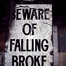 Beware of Falling Broke. by Steve Chapple