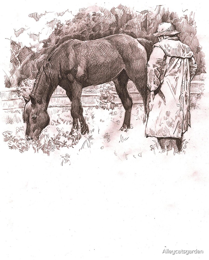 draft horseman by Alleycatsgarden