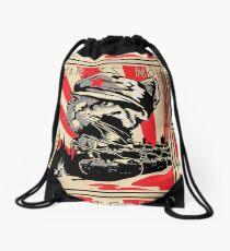 MKC -  War is Now Drawstring Bag