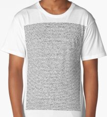 The Shrek 2 Script Long T-Shirt