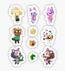 Animal Crossing Stickers! Sticker