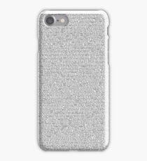 The Shrek 2 Script iPhone Case/Skin