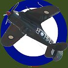 Pacific WW2 RAAF Roundel Boomerang VH-MHR Design by muz2142