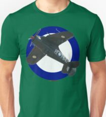 Pacific WW2 RAAF Roundel Boomerang VH-MHR Design Unisex T-Shirt