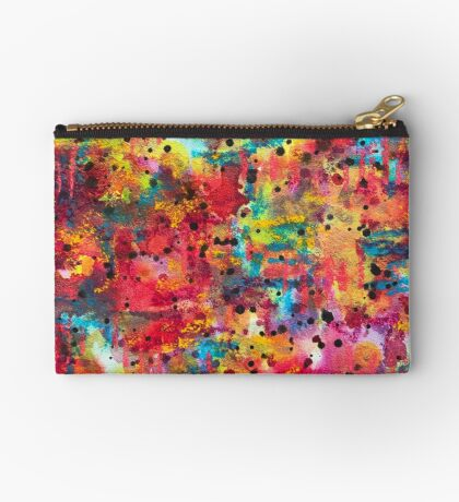 Expanded Creativity - Anahata Codes infused intuitive painting Studio Pouch