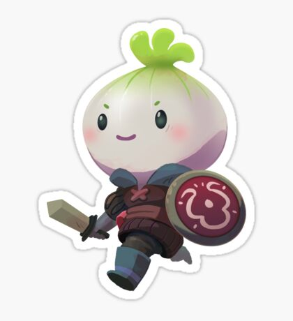 Onion Knight Sticker