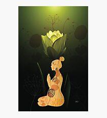 Asana Yoga Photographic Print
