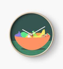 Fruit Still Life (Interrupted) Clock