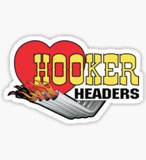 HOOKER HEADERS Sticker