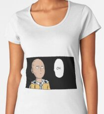 One - Punch man Women's Premium T-Shirt