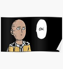 One - Punch man Poster