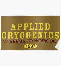 Applied Cryogenics Poster