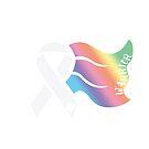 Awareness Ribbon Cape by Nisa Katz