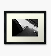 Black and White Architecture Version no. 1 Framed Print