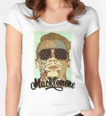 The Beautiful Macklemore Art Women's Fitted Scoop T-Shirt