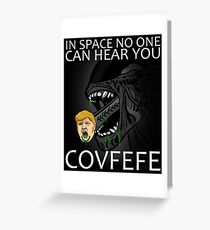 COVFEFE Greeting Card