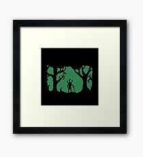 The Man in the Woods Framed Print