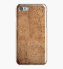 weathered concrete wall iPhone Case/Skin