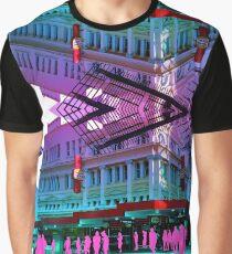 Pastel Brisbane City - Meet you outside Hungry Jacks Graphic T-Shirt