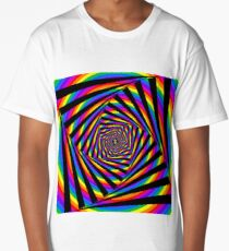 Rainbow Swirl Long T-Shirt