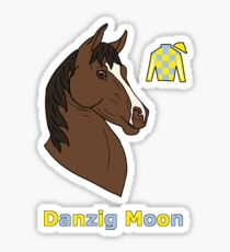Danzig Moon Sticker