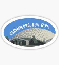 Ogdensburg Dome Sticker