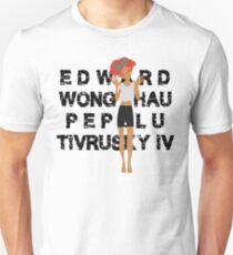 Edward Full Name Black T-Shirt