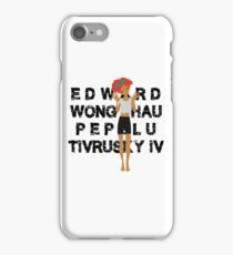 Edward Full Name Black iPhone Case/Skin