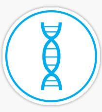 DNA Circle Sticker