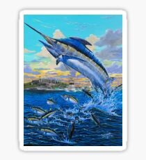 Puerto Rico Marlin  Sticker