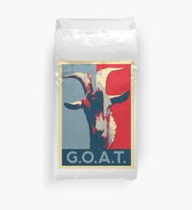 G.O.A.T. - GOAT - Greatest of all time Duvet Cover
