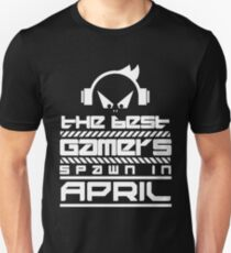 The Best Games Spawn In April Shirt Unisex T-Shirt