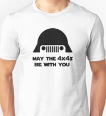 May The 4x4s Be With You (Light) Unisex T-Shirt