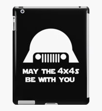 May The 4x4s Be With You (Dark) iPad Case/Skin