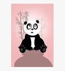 Panda Girl Photographic Print