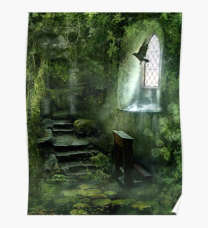 The Chapel in the Woods Poster