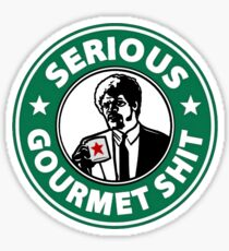 Pulp Fiction Serious Gourmet Shit Sticker