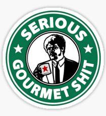 Pulp Fiction Serious Gourmet Shit Sticker