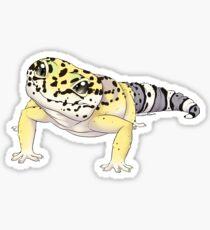 Leopard gecko - Smaug  Sticker