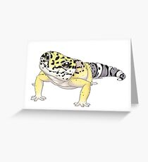 Leopard gecko - Smaug  Greeting Card