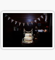Cake By Candlelight Sticker