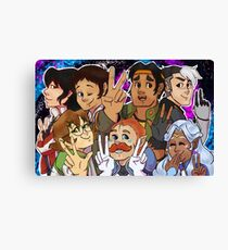 V is for Voltron Canvas Print