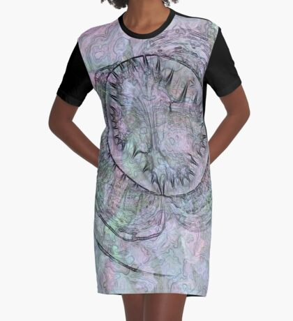 Reef Amoeba 1 Graphic T-Shirt Dress