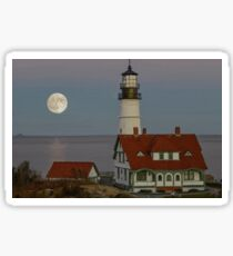 Full Moon Maine Sticker
