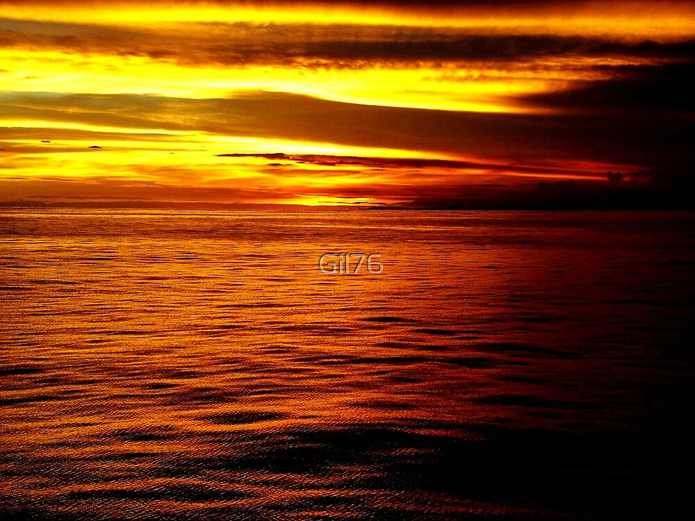 Colorful sunset by Gil76