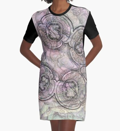 Reef Amoeba 2 Graphic T-Shirt Dress