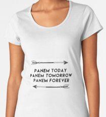 panem toda, panem tomorrow, panem forever Women's Premium T-Shirt