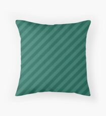 Celebration Town Green Two Tone Large Candy Cane Throw Pillow